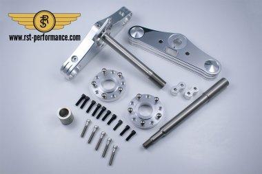 RST triple clamp SLIM-GLIDE-design  5°