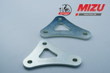 MIZU Heckhöherlegung K1200S/R,Sport,K1300R/S/GT,Tiger1050 Sport,Speed Triple