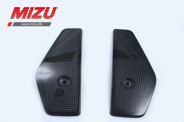 MIZU Pro Race Carbon Kühlerschutz re/li