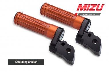 MIZU verstellbare Fahrerraste V-Strom,Bandit,B-King,Hayabusa,GSX-R125,GSX-S1000