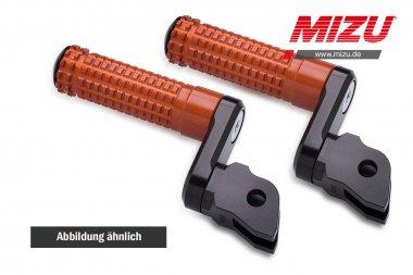 MIZU verstellbare Soziusfußraste Yamaha MT125,MT03,MT07,MT09,XSR700,XSR900,YZF-R