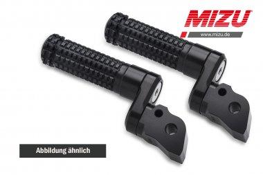 MIZU verstellbare Fahrerraste BMW F800R/S/ST,K1200/S/GT,K1300R/S,R1200R/RS/S/ST