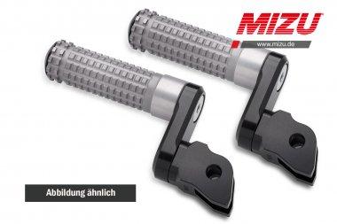 MIZU verstellbare Fahrerraste FJR1300,MT125,MT-07,MT-09,XJR1300,YZFR125,YZF-R3