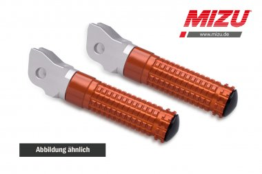 MIZU Race Fahrerfußraste KTM 125/390Duke,1290 SuperDuke,690SMC/R,790Duke