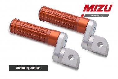 MIZU verstellbarare Fahrerfußraste,CBF500/600,CBR300R,CBR600,NC700/750,GSR600