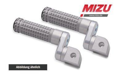 MIZU verstellbare Soziusfußraste Yamaha MT125 MT03 MT07 MT09 XSR700 XSR900 YZF-R