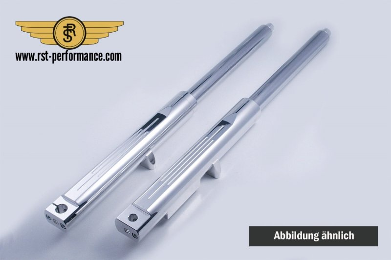 RST Gabelholme FAT-GLIDE-DESIGN Singleflansch inkl. Cartridge
