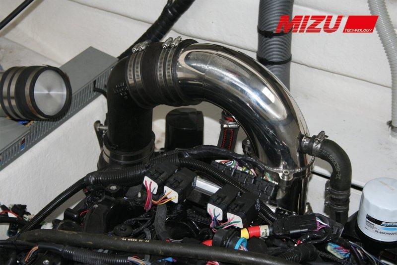 MIZU P-Max Bodenseezulassung für 8,2 Liter, 8 Zylinder