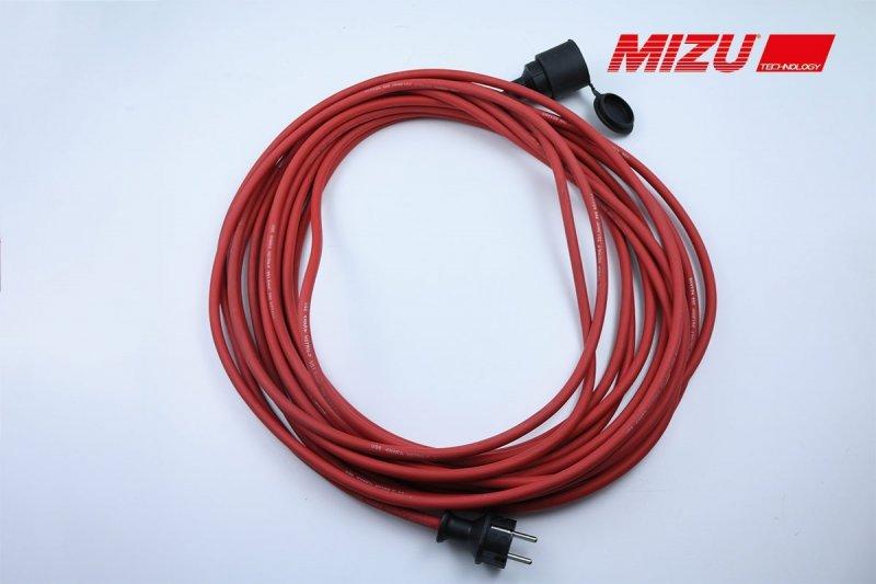 MIZU Kabel 15 m, rot
