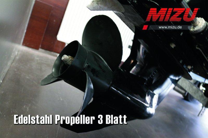 Propeller Reparatur Edelstahl 3 Blatt