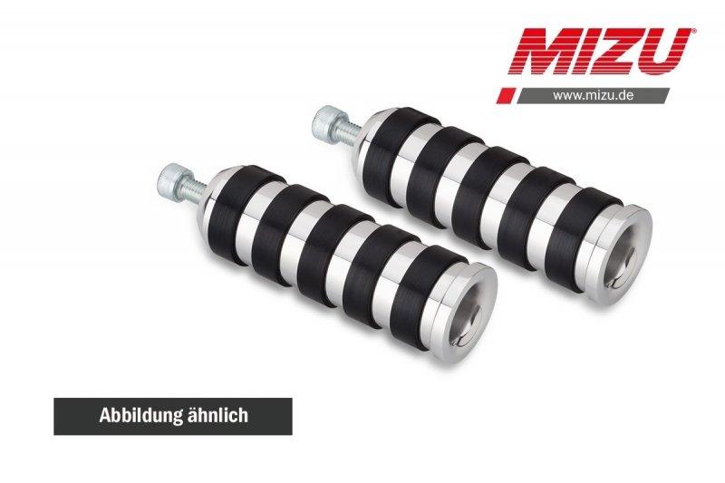 MIZU Custom Design Fahrerfußraste