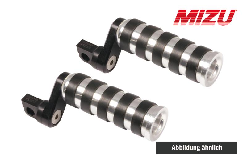 MIZU Custom Design Soziusfußraste