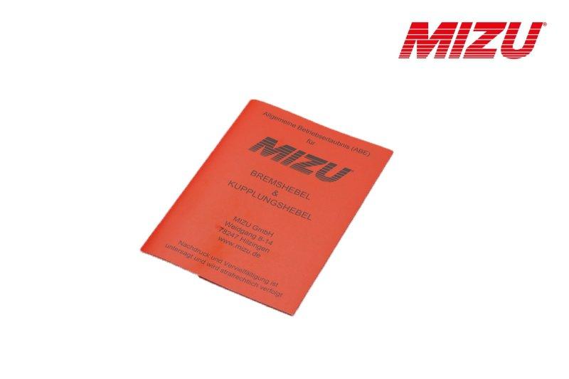 ABE für MIZU für Brems- und Kupplungshebel