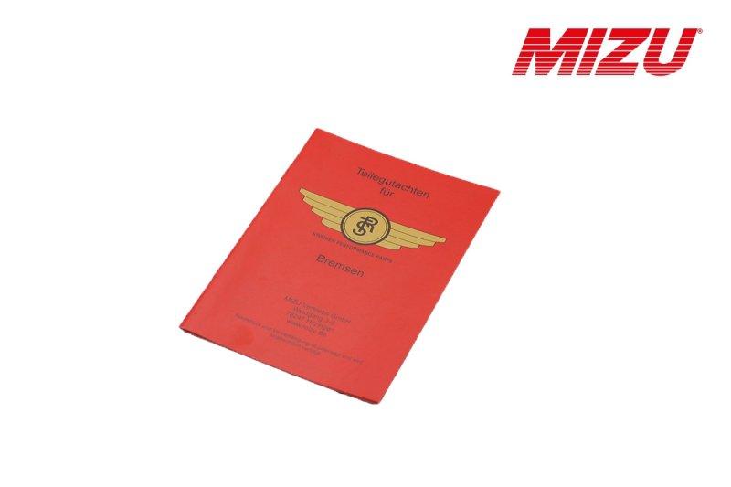 Teilegutachten für RST Bremsen