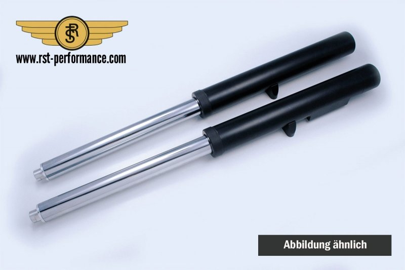 RST Fork Legs NEW-STYLE-DESIGN dual disc incl. Car