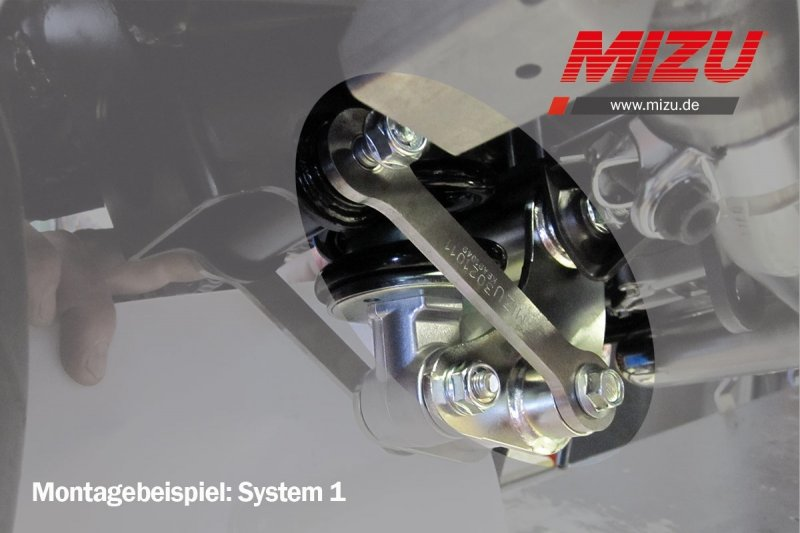 Tieferlegung  Hecktieferlegung Suzuki GSF1250 Bandit 1250-5cm gsf