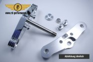 RST triple clamp FAT-GLIDE-Design  0°