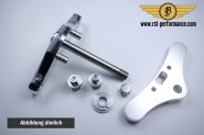 RST triple clamp NEW-STYLE-Design  0°