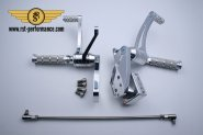 RST footrest system NEW-STYLE-Design