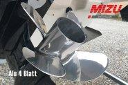 Propeller Reparation 4 Blade Alumimium
