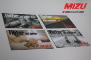 "MIZU post card set ""Tiefer ist geiler"""